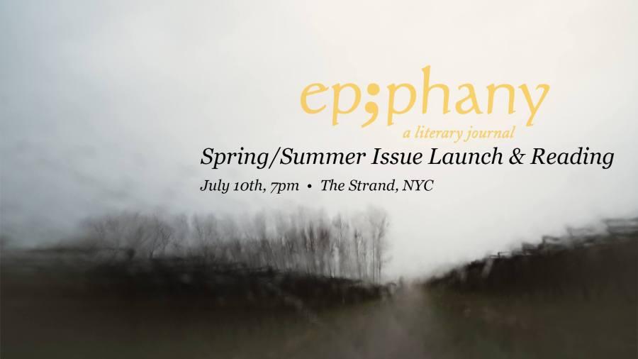 Epiphany Magazine Spring/SummerLaunch