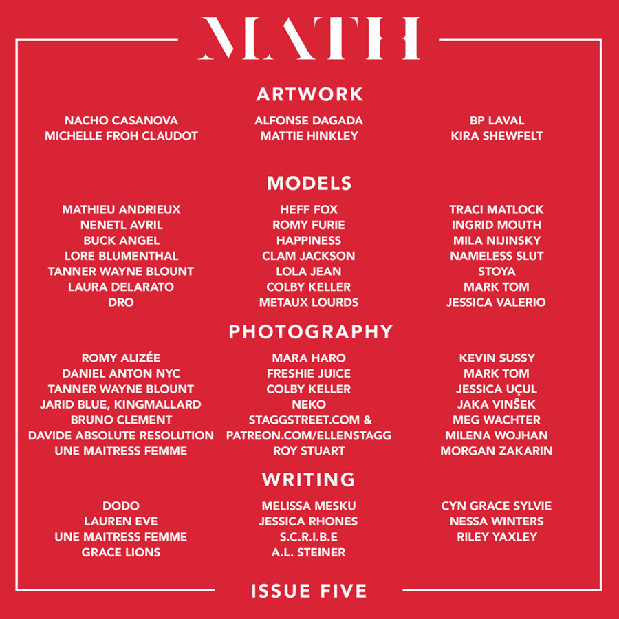 MATH Magazine: Issue 5 ReleaseParty